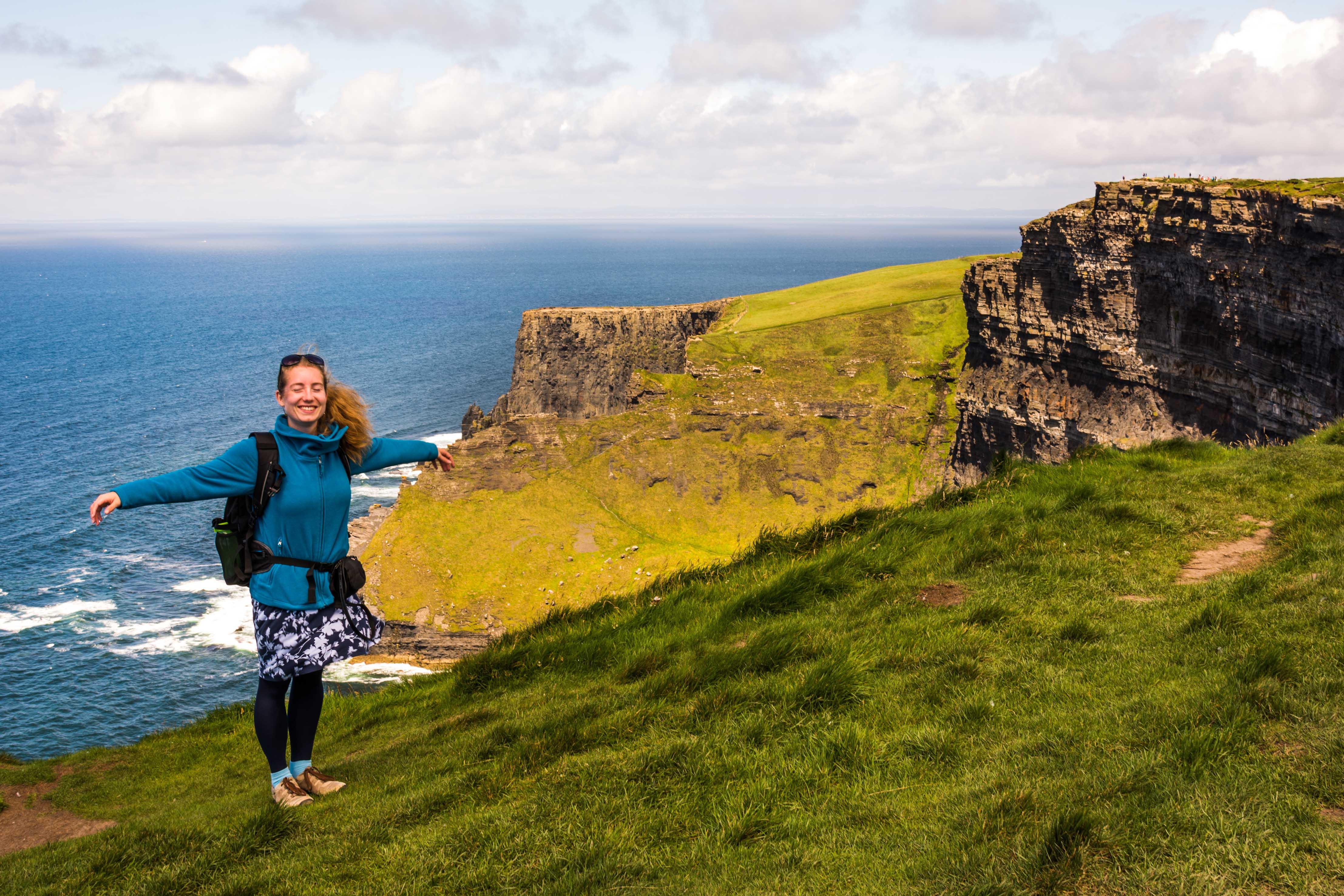DIe Cliffs of Moher waren schon lange ein Traumziel von mir