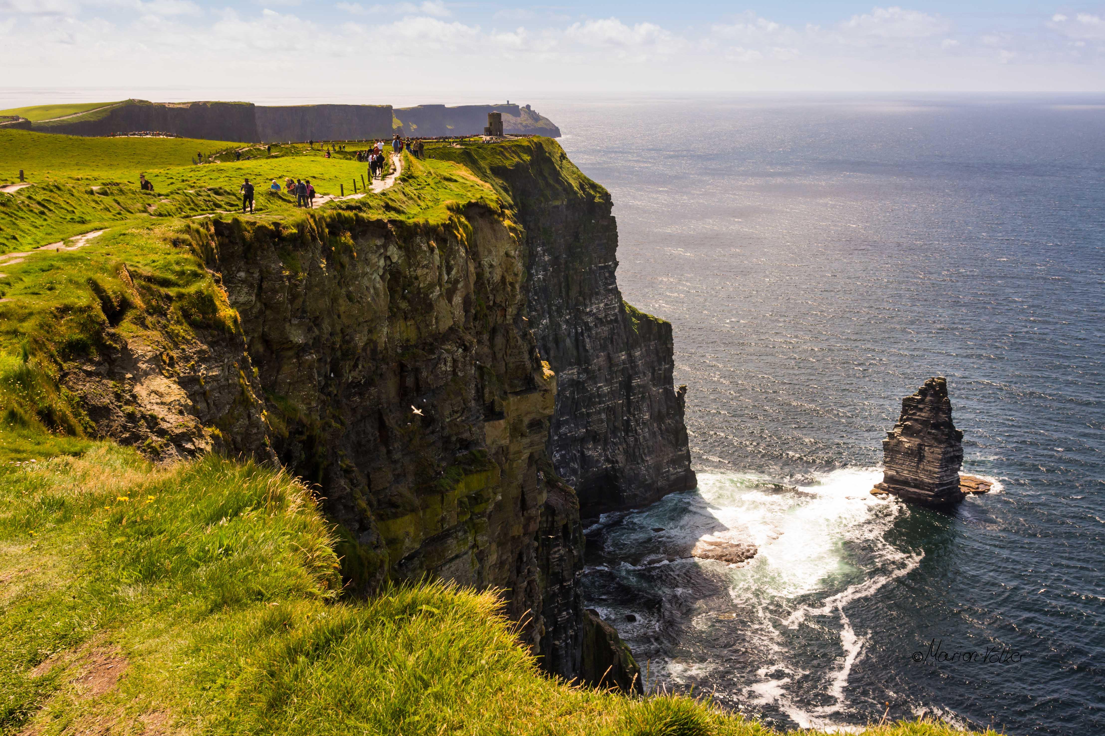 Die Cliffs of Moher am WIld Atlantic Way in Irland sind immer einen Besuch wert