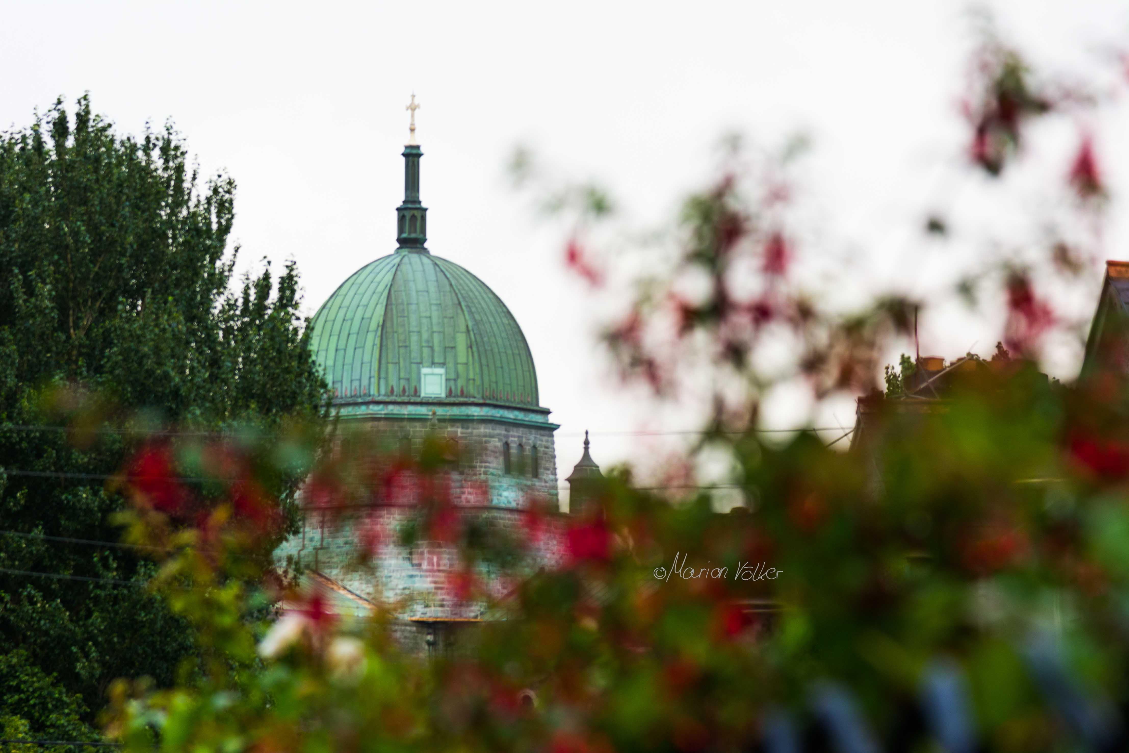 Blick auf die Kuppel der Galway Cathedral in Irland