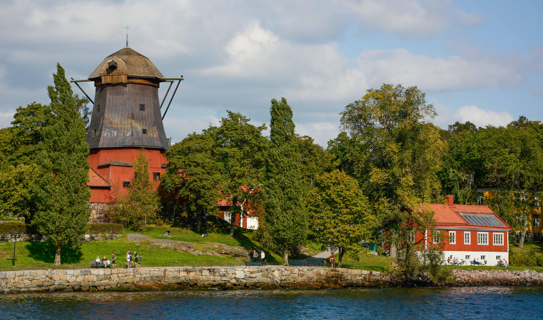Die Ölmühle von Waldemarsudde  in Stockholm