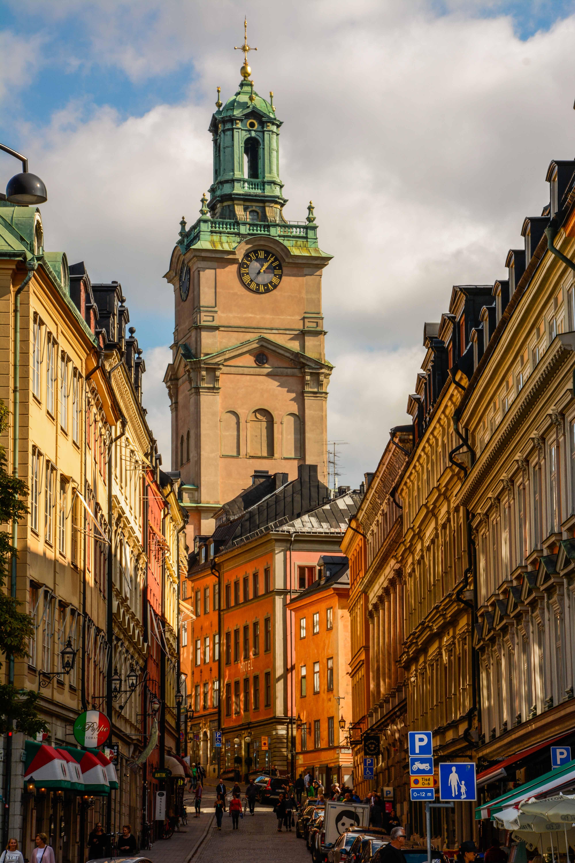 DIe Straßen von Stockholm