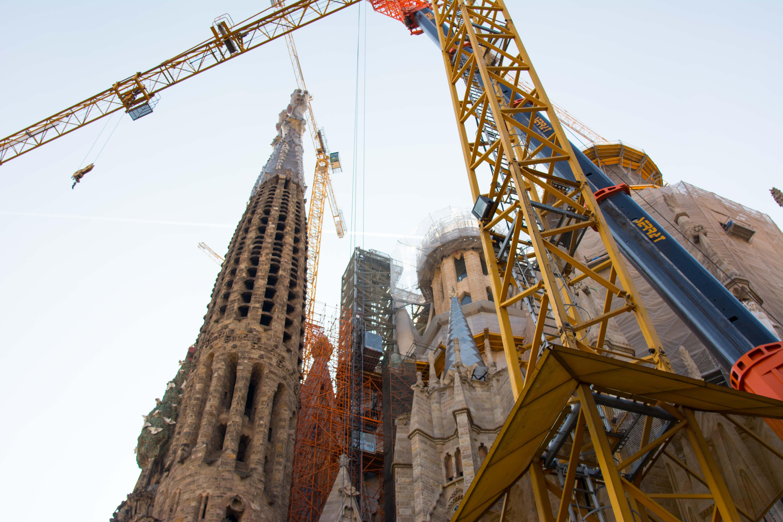 Es wird noch ein paar Jahre dauern, bis die Sagrada Familia fertig gestellt ist