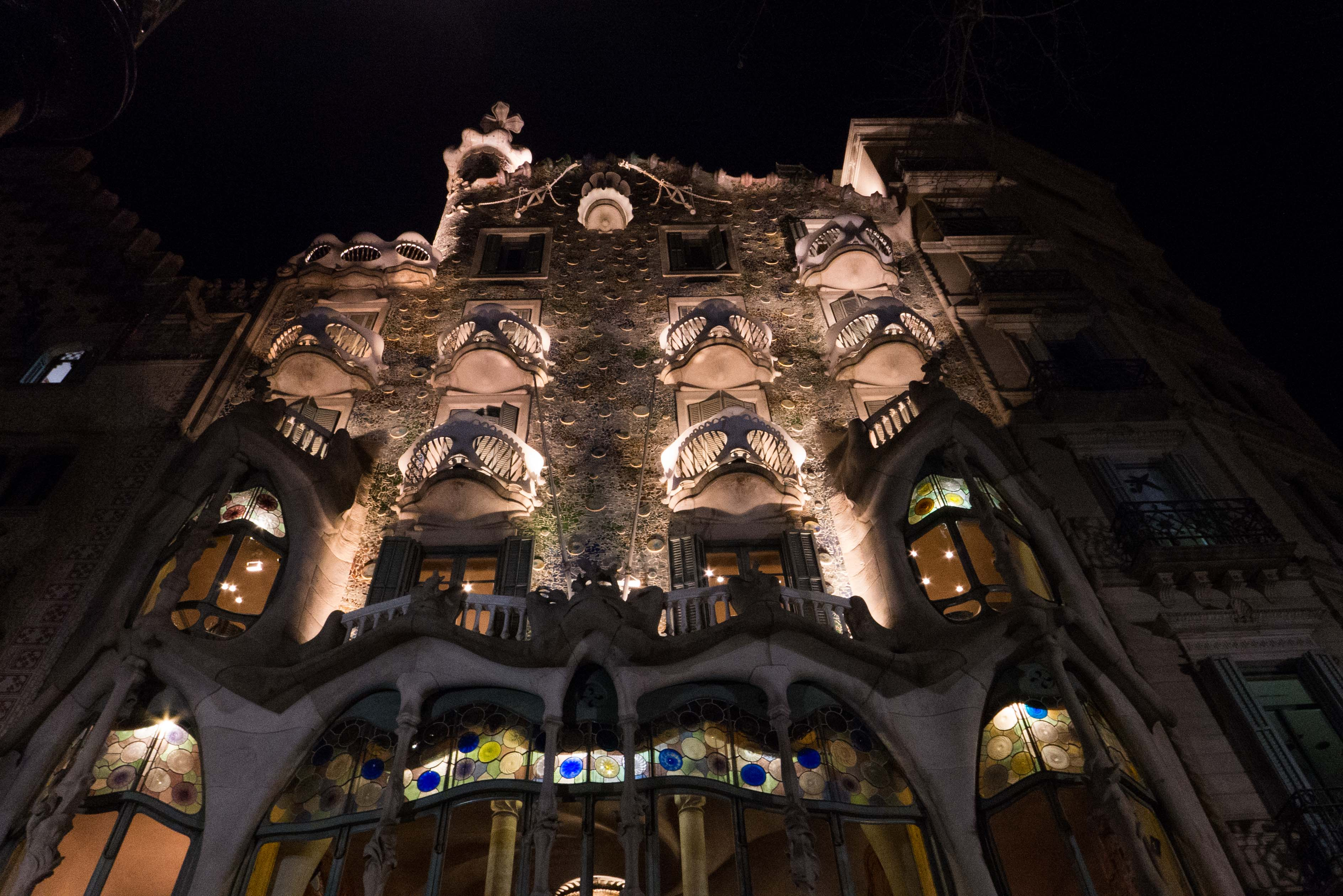 Die Casa Milà in Barcelona