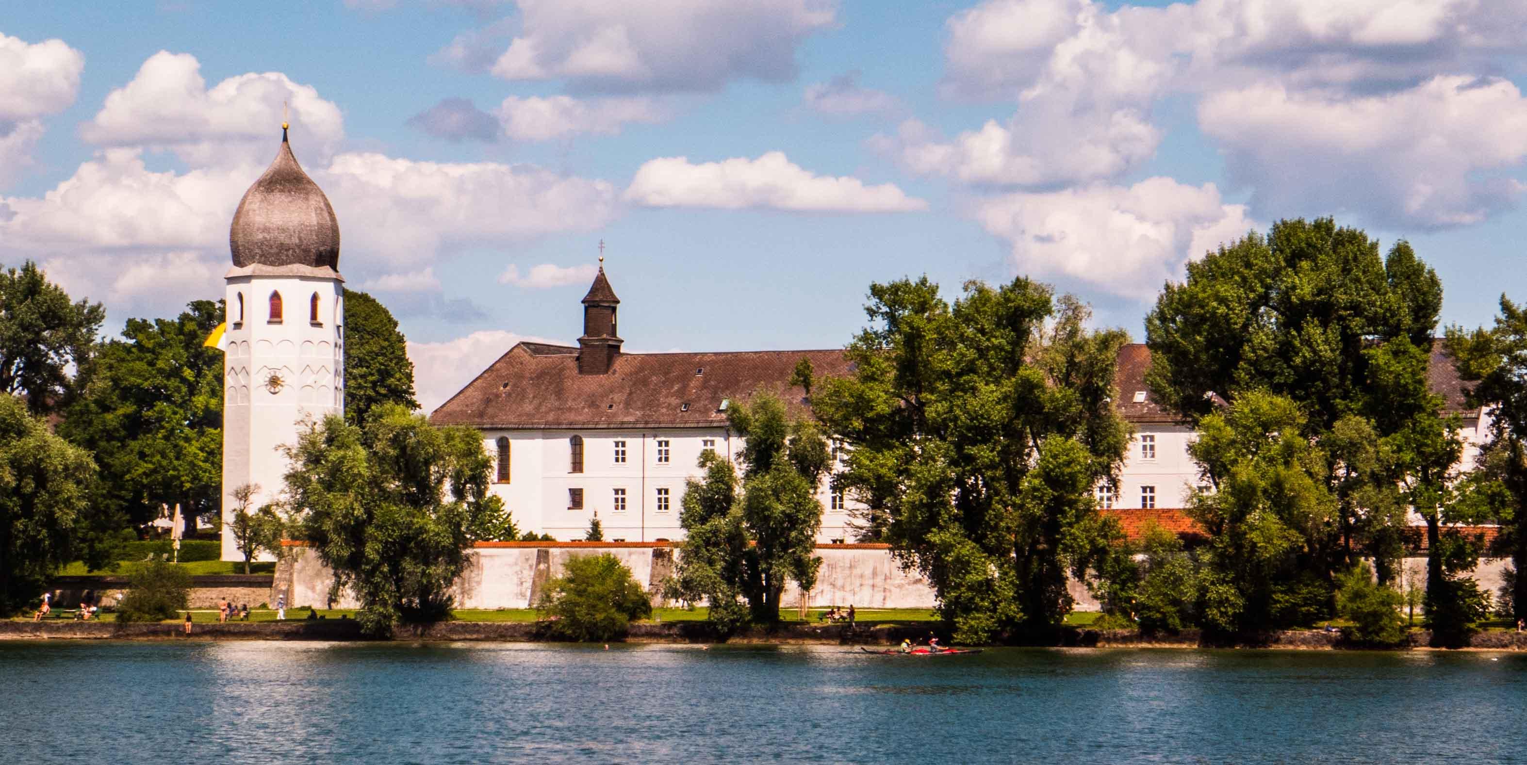 Das Kloster Frauenchiemsee im Chiemsee