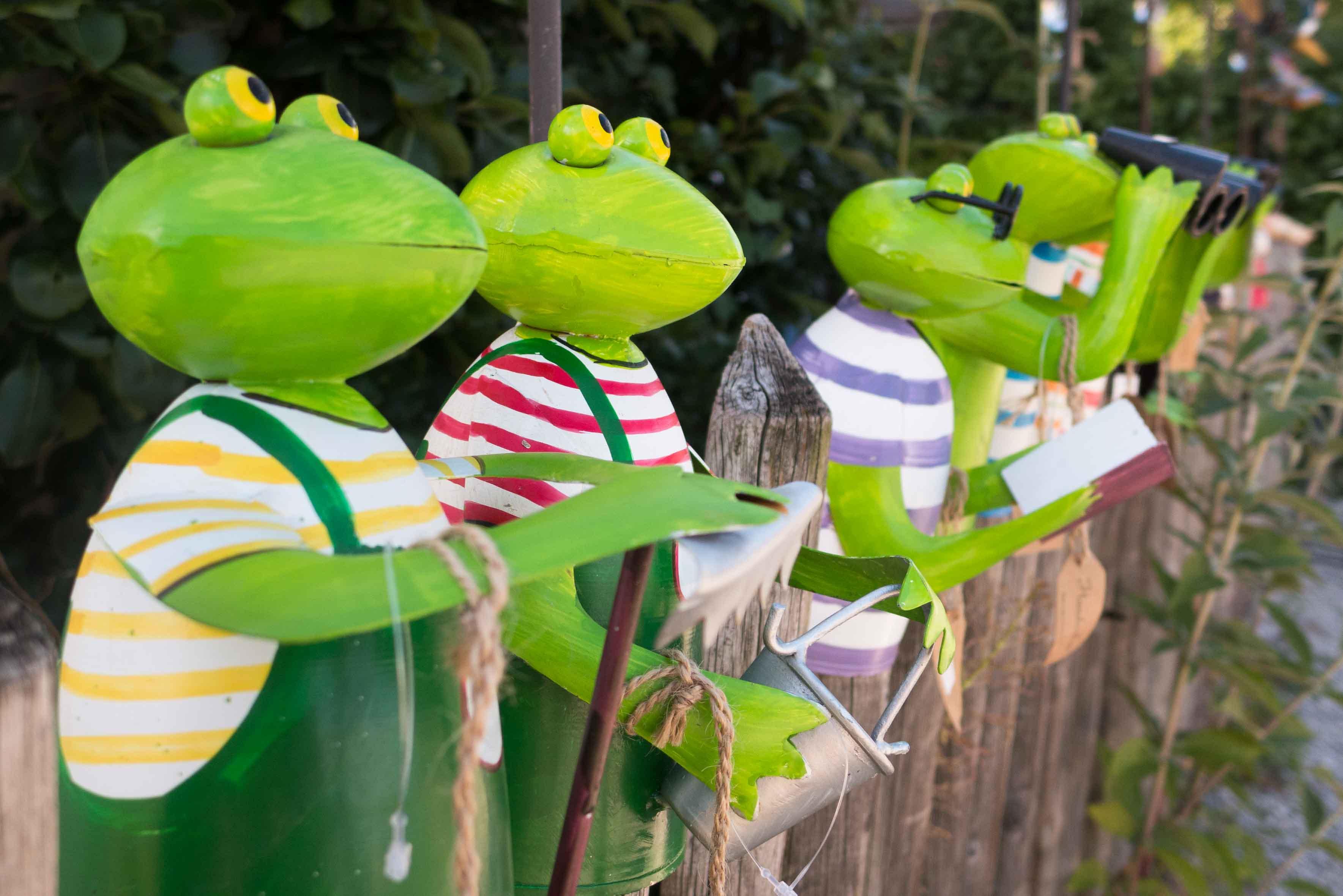 Gartenschmuck auf der Fraueninsel im Chiemsee