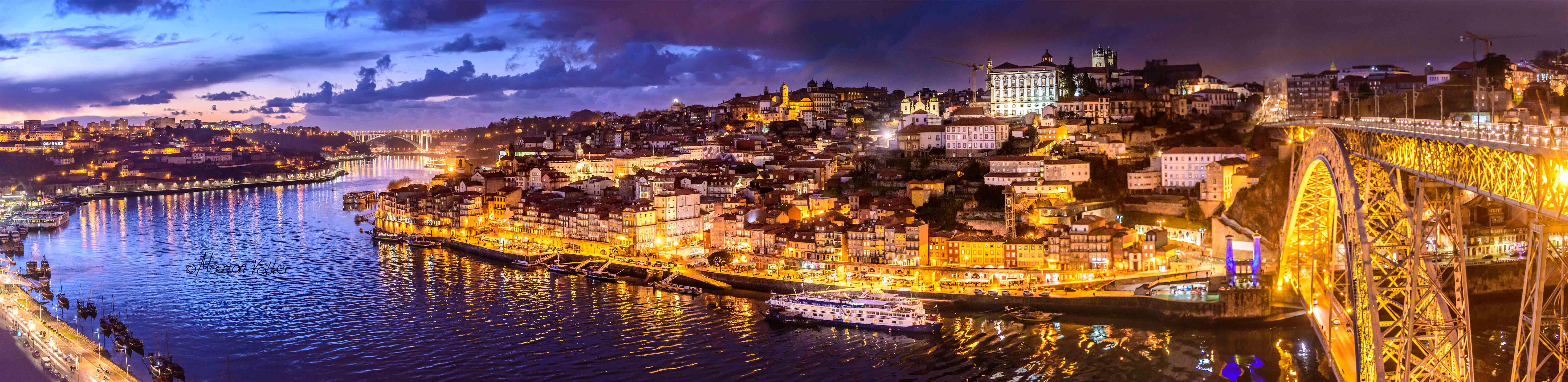 Nachts fängt Porto richtig zu funkeln an